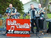 Walt Cieslik and the Ambassadors