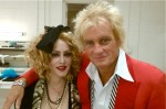 with Rod Stewart Danny D