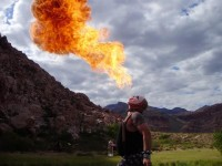 Warren Ross/Scorch the Clown - Fire Eater in Paradise, Nevada