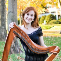 Whitney Cairns, Harpist - Cajun Band in El Paso, Texas