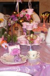 Garden Fairy  and Royal Princess Tea Tables