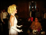 Miss Marilyn entertaining with songs at the Queen Mary.