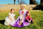 Rapunzel and two princesses