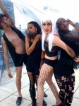 Athena as Gaga and her dancers