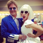 Athena as Gaga with an Elton Impersonator