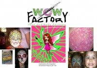 WOW FactorY Face and Body Art - Temporary Tattoo Artist in Tampa, Florida