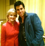 With Florence Henderson in NY!