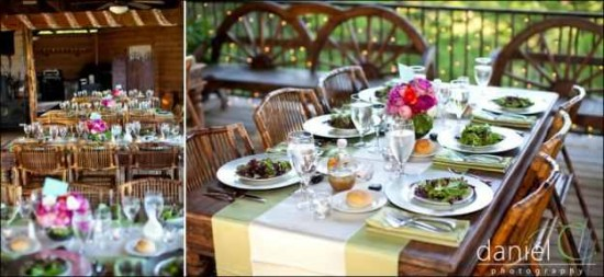 Wedding Table Settings / Decor