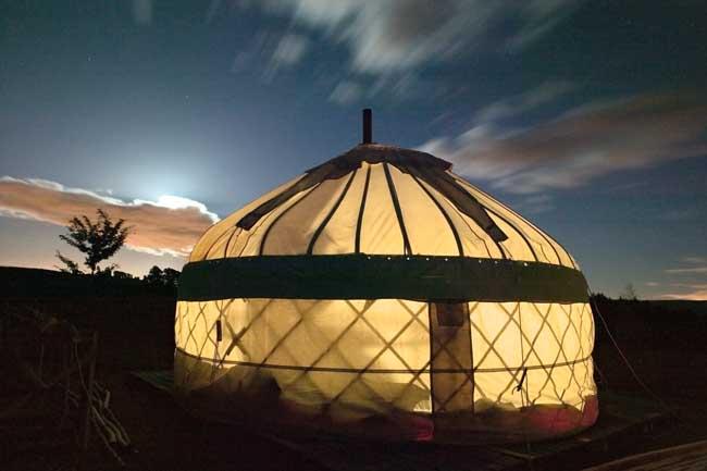 Yurt Kits Do It Yourself : Giles bowkett a yurt with brain