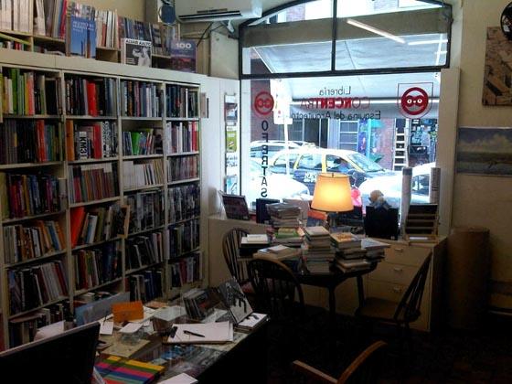 Librería Concentra, interior