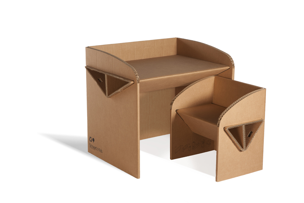 Ggbazar 2013 te presentamos los dise os de papel y - Mesas de carton ...