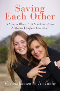 Buy your copy of Saving Each Other, with 100 percent of the proceeds going to NMO research.