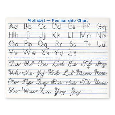 Manuscript Alphabet Printable – March 2017 Calendar