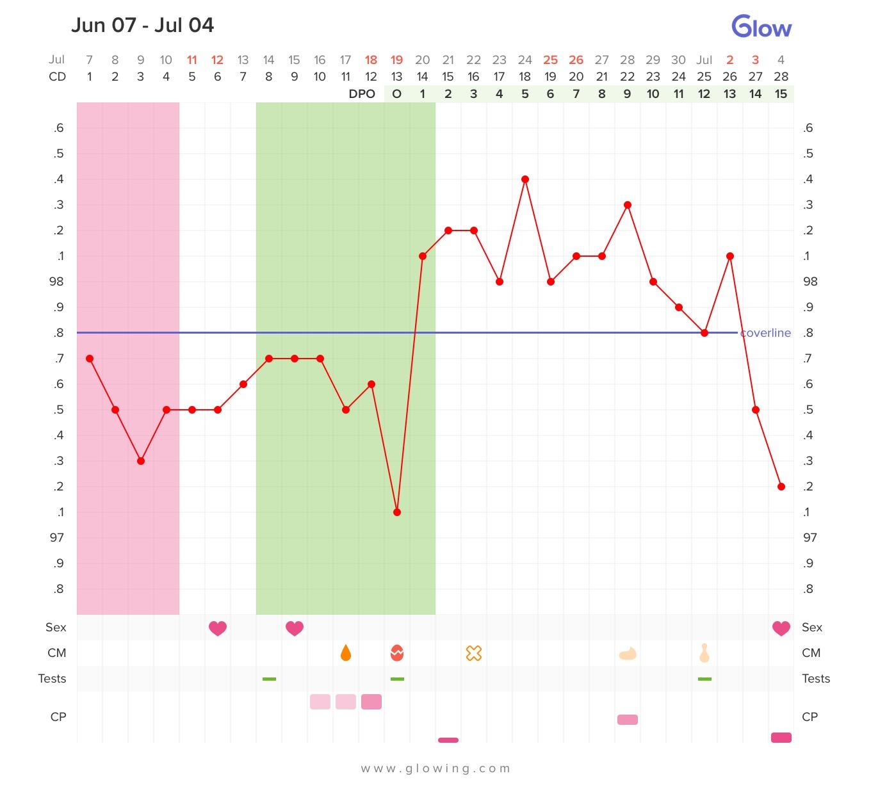 How to measure basal temperature 19