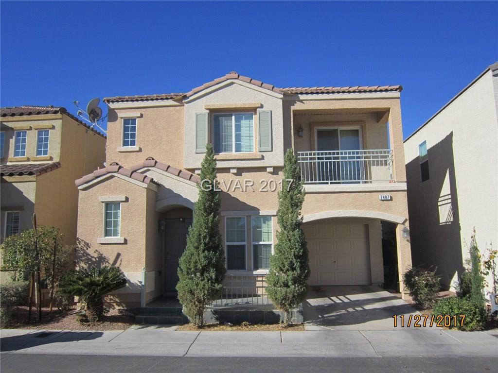 7487 Scroggs Street Las Vegas NV 89148