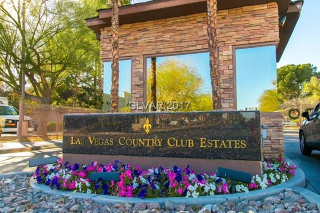 Las Vegas Country Club - 2852 Loveland Drive 1802