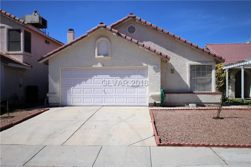 1651 Angel Falls Street Las Vegas NV 89142
