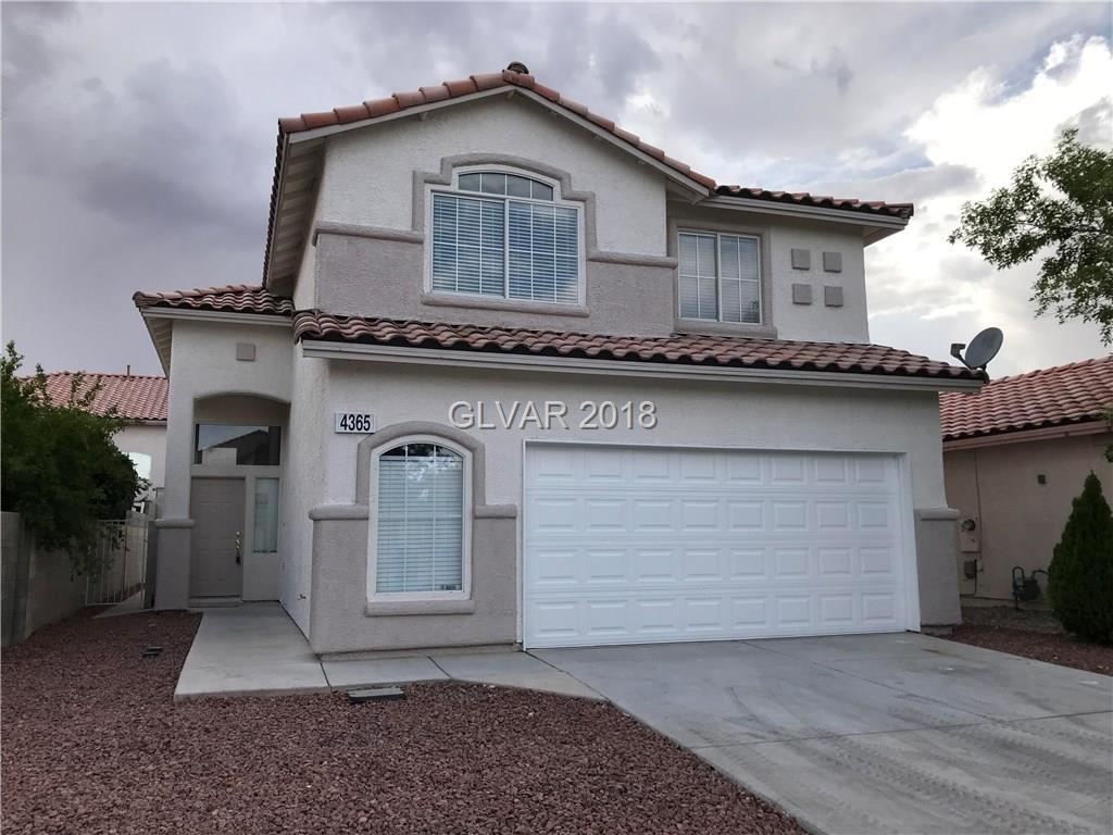 4365 Silver Bay Street Las Vegas NV 89147