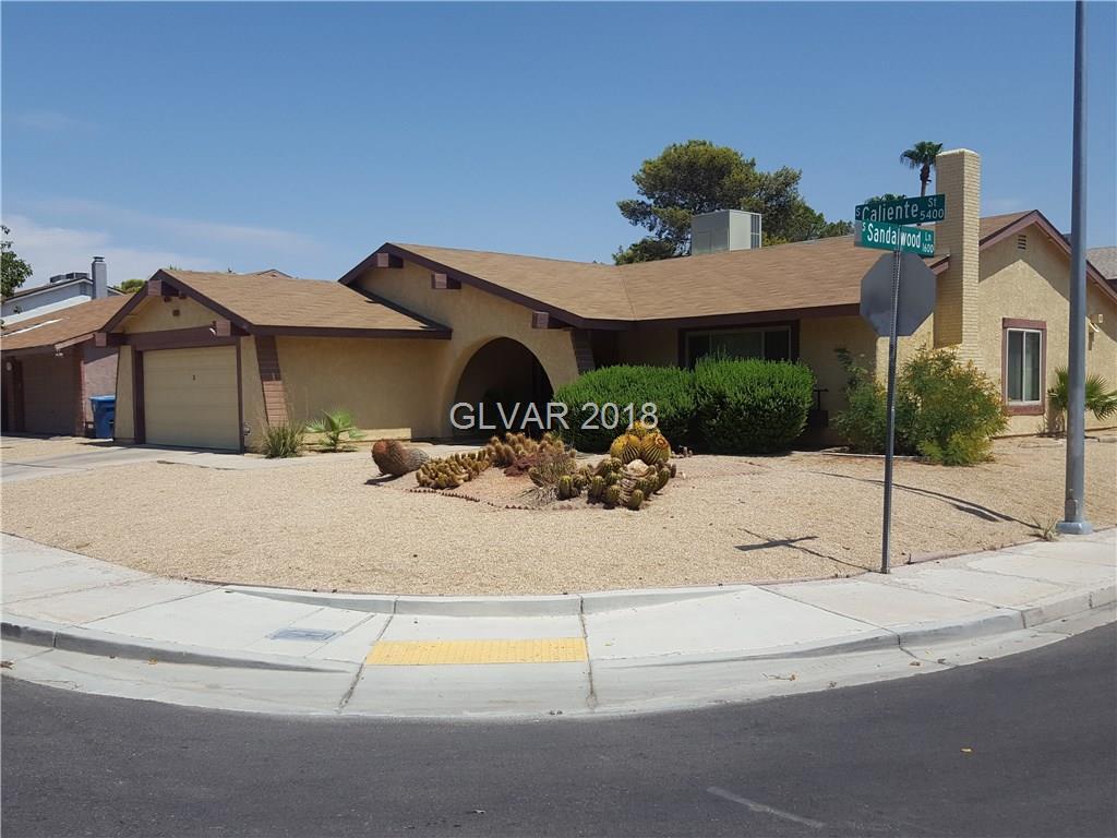 5442 Caliente Street Las Vegas NV 89119