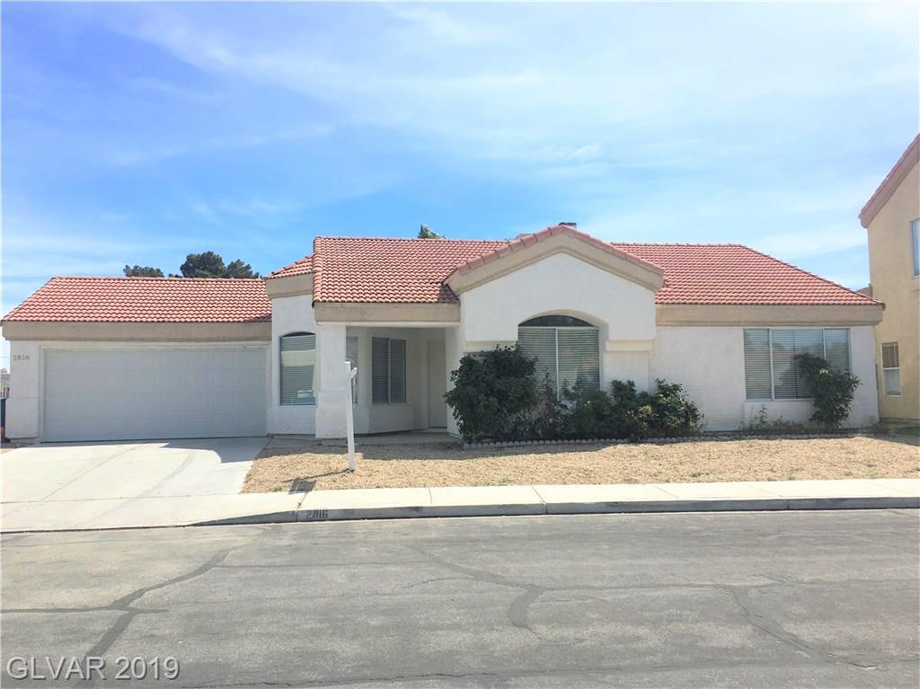 2816 Old Sterling Street  Las Vegas, NV 89108