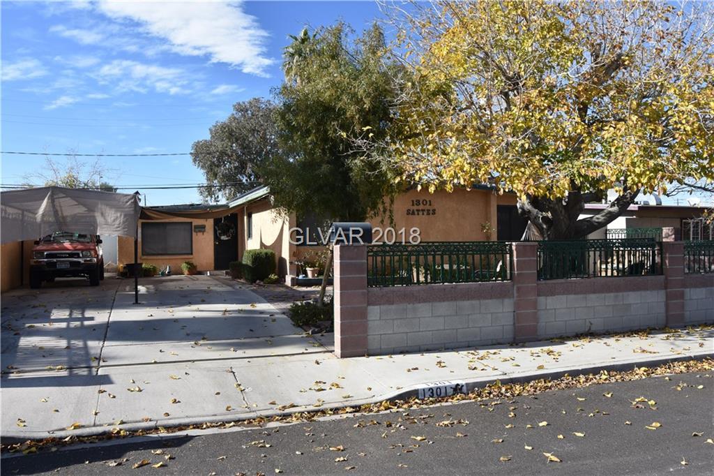 1301 Sattes Street  Las Vegas, NV 89101