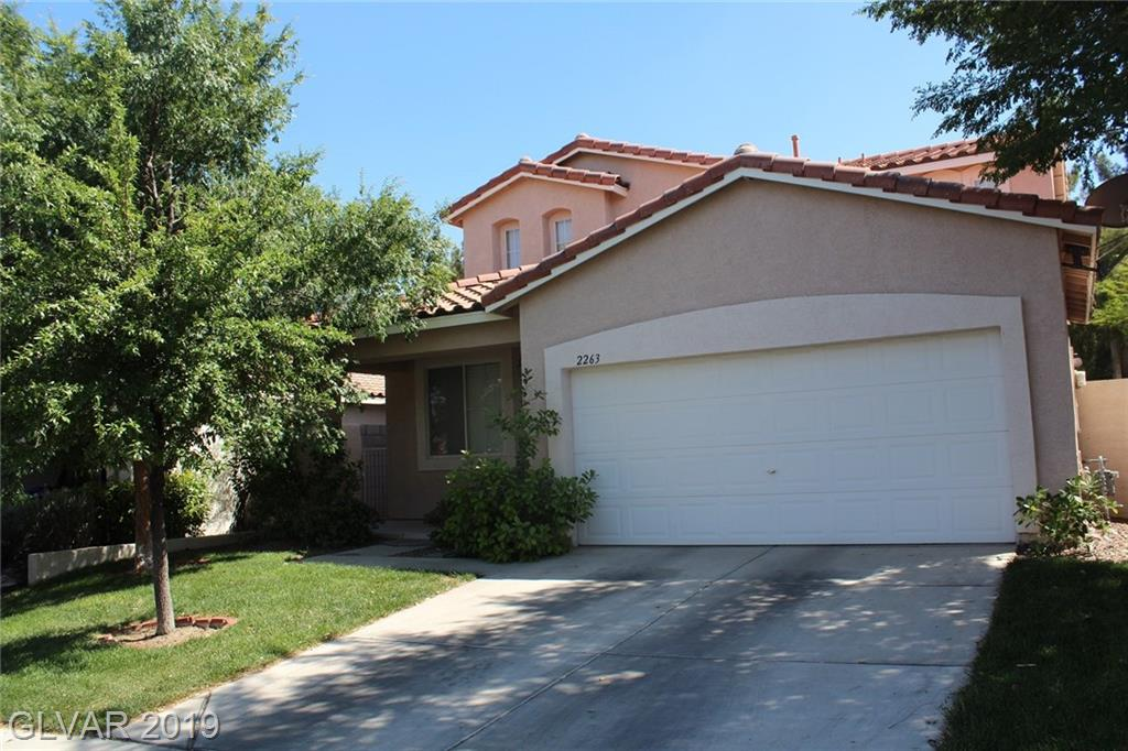 2263 Chestnut Bluffs Avenue  Henderson, NV 89052