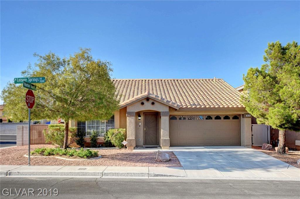 9076 Leisure Springs Drive  Las Vegas, NV 89129