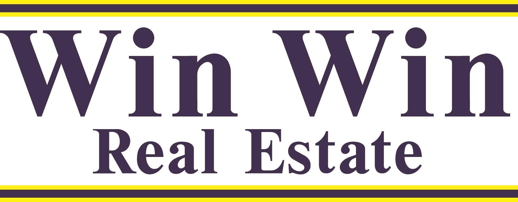 Win win real estate logo
