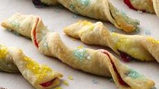 Fruit Pastry Sticks Recipe