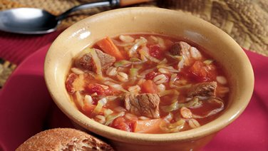 Caraway Beef and Vegetable Soup