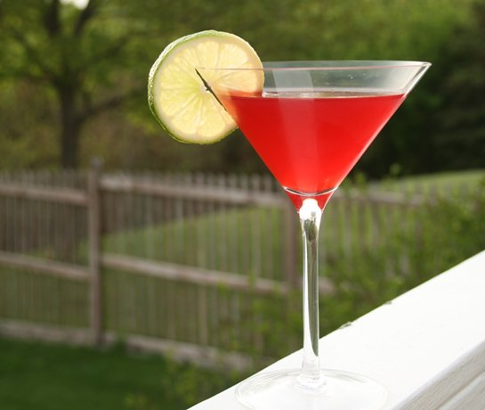 Summer Cherry-Tinis