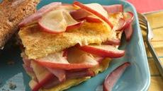 Apple-Canadian Bacon Omelet  Recipe