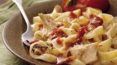 Chicken Fettuccine Casserole (Cooking for Two) Recipe
