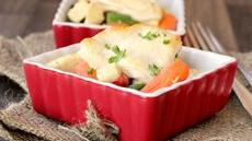 Speedy Chicken Pot Pies Recipe