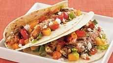 Grilled Chicken Soft Tacos Recipe