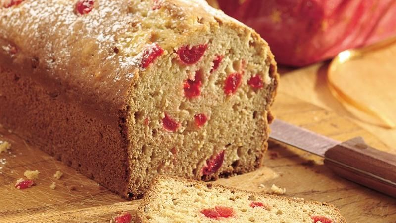 Pineapple-Cherry Quick Bread