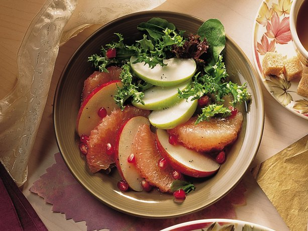 Image of Apple-grapefruit Salad, Betty Crocker