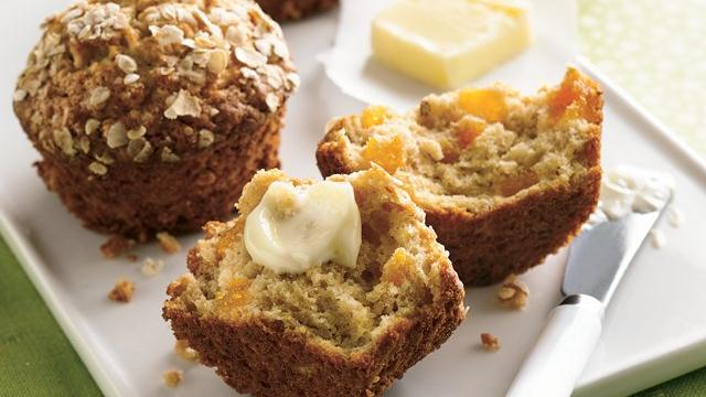 Image of Apricot-oatmeal Muffins, Pillsbury