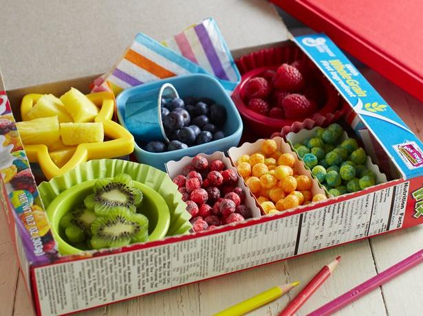 Rainbow Breakfast Bento Box