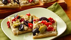 Gluten Free Greek Appetizer Pizza Recipe
