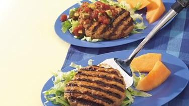 El Paso Grilled Turkey Patties