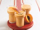 Honey Nut Peach Smoothies