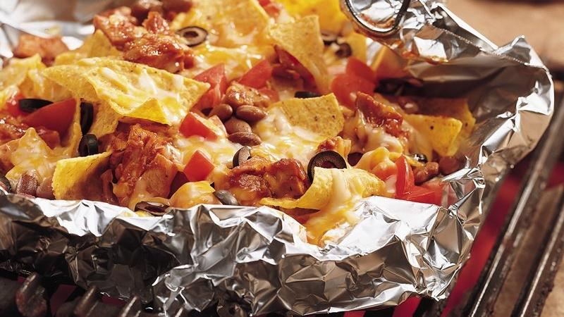 Barbecued Chicken Nachos