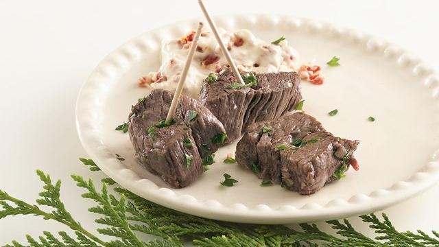 Garlic Beef Cubes