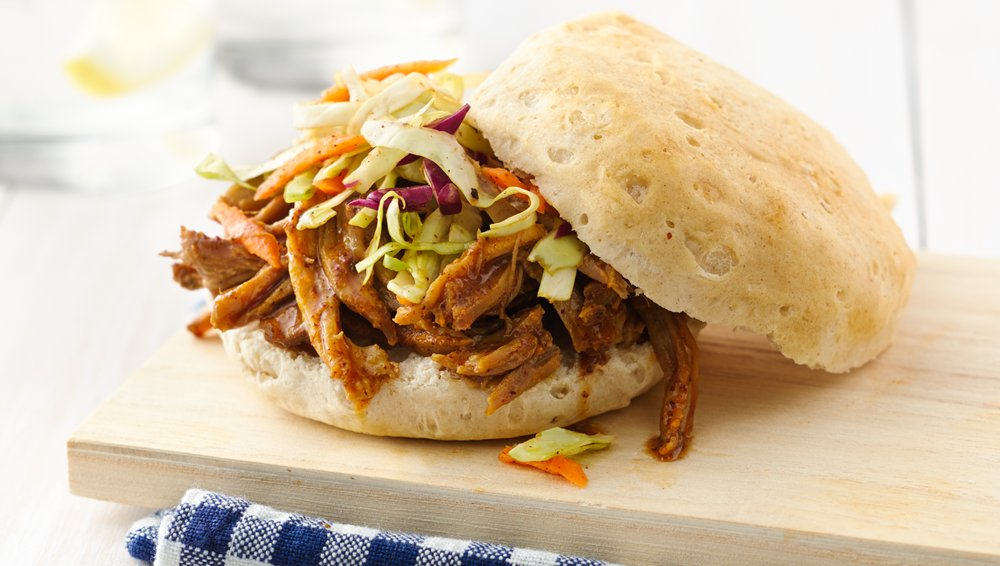 Slow-Cooker Carolina-Style Pulled Pork recipe from Pillsbury.com