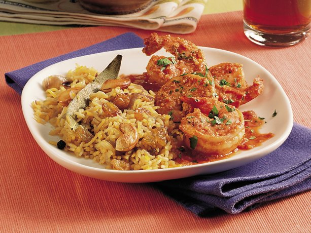 Image of Almond-coated Shrimp (moghalai Jhinga), Betty Crocker