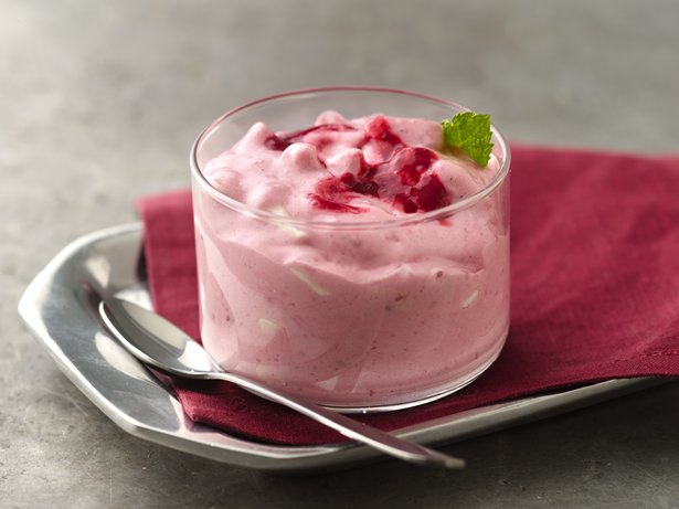 Raspberry Yogurt Celebration Dessert