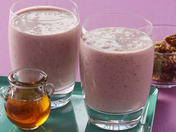 Greek Honey Oat Smoothies