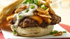 French Onion Barbecue Burgers Recipe