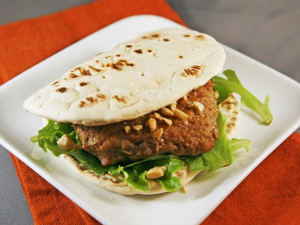 Baked Satay Burgers